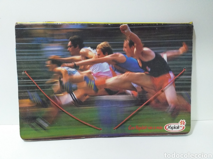 CARPETA YOPLAIT AÑOS 80 (Coleccionismo Deportivo - Material Deportivo - Otros deportes)
