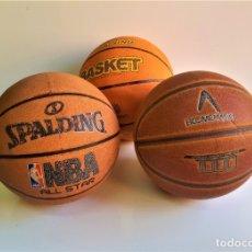 Coleccionismo deportivo: LOTE 3 BALONES Y O PELOTAS DE BASQUET. Lote 177714987