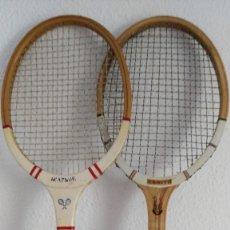 Coleccionismo deportivo: 2 ANTIGUAS RAQUETAS DE TENIS. Lote 178122069