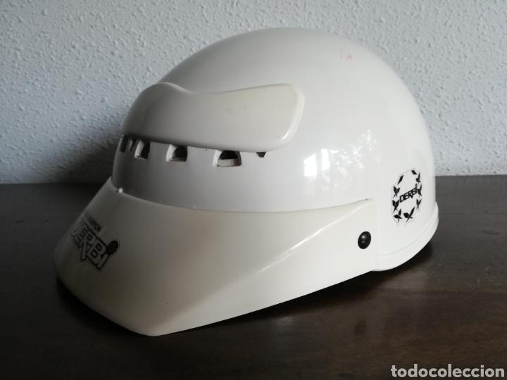 Coleccionismo deportivo: Casco Derbi World Champion - Moto Motociclismo bala roja Motor - Foto 7 - 178359937