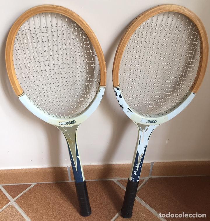 Coleccionismo deportivo: ANTIGUAS RAQUETAS DE TENIS DE MADERA - Foto 3 - 178961058
