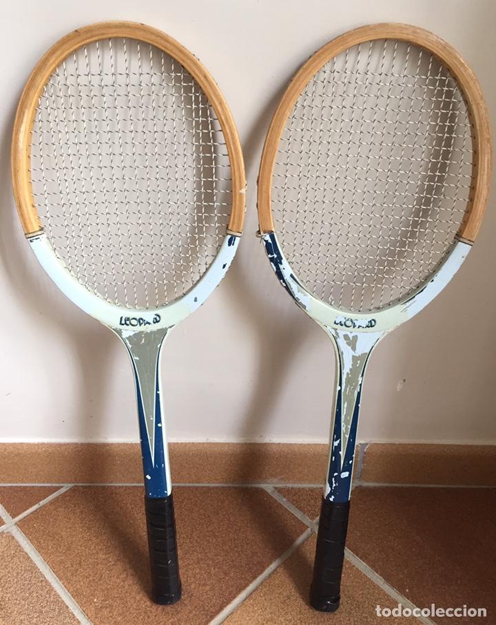 Coleccionismo deportivo: ANTIGUAS RAQUETAS DE TENIS DE MADERA - Foto 8 - 178961058