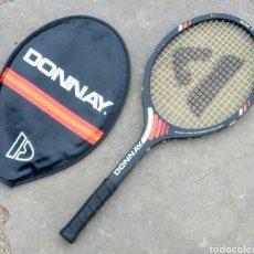 Coleccionismo deportivo: RAQUETA TENIS DONNAY, DE MADERA. AÑOS 80.. Lote 178984461