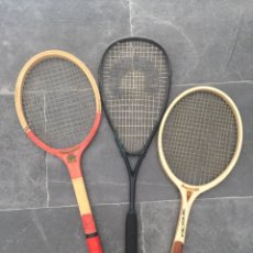 Coleccionismo deportivo: 3 RAQUETAS ANTIGUAS. Lote 179064605