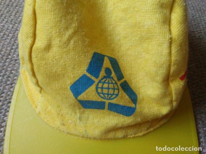 Coleccionismo deportivo: Gorra Caja Valencia Visera Ciclismo Vintage Retro - Foto 2 - 179084023