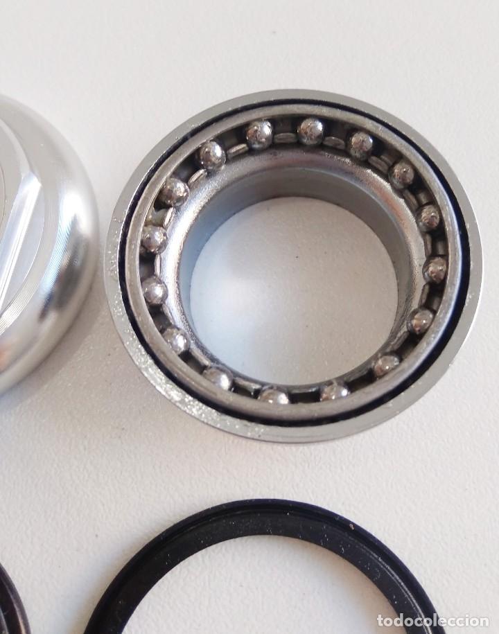 Coleccionismo deportivo: Juego de dirección FSA aluminio 22.2mm. Incompleto? Ver fotos. Recambio bicicleta ciclismo - Foto 6 - 179133478