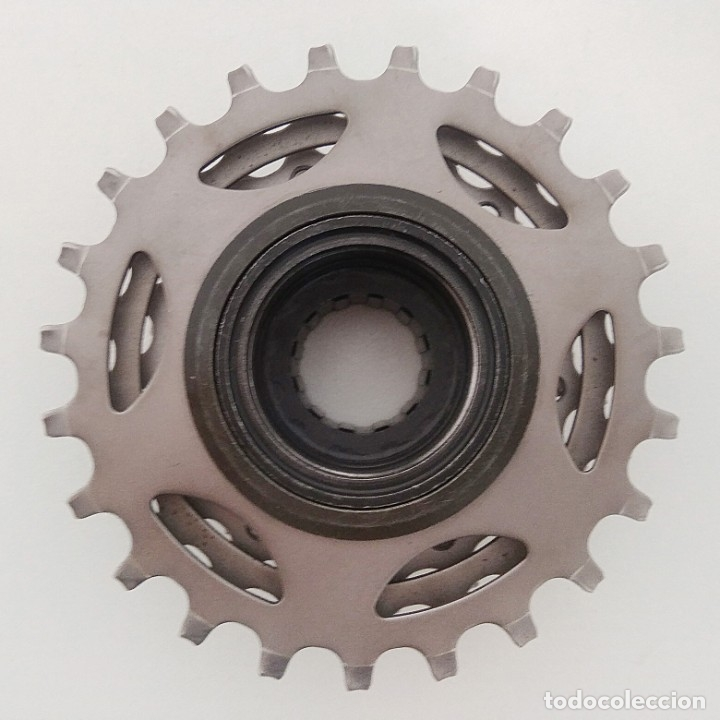 Coleccionismo deportivo: Cassette Shimano MF-7400 7 velocidades. Recambio bicicleta ciclismo. ref1 - Foto 2 - 179139302