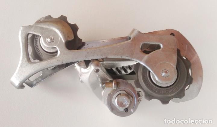 Coleccionismo deportivo: Cambio trasero Alivio Shimano RD-MC12. Recambio bicicleta ciclismo - Foto 2 - 179181497