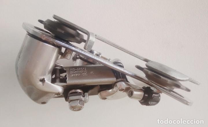 Coleccionismo deportivo: Cambio trasero Alivio Shimano RD-MC12. Recambio bicicleta ciclismo - Foto 3 - 179181497