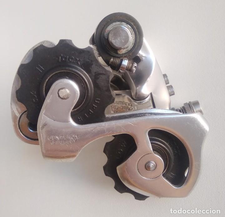 Coleccionismo deportivo: Cambio trasero Shimano Dura-Ace RD-7402. Recambio bicicleta ciclismo. ref1 - Foto 2 - 179181521