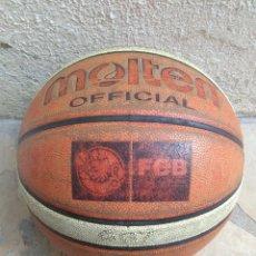 Coleccionismo deportivo: PELOTA DE BALONCESTO MOLTEN OFFICIAL FEB FIBA 007. Lote 180111071