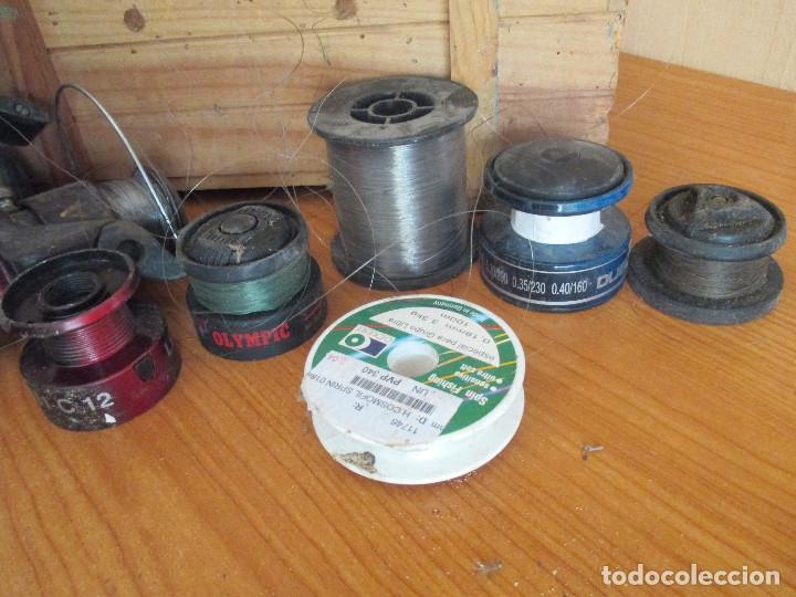 LOTE 6 ROLLOS SEDAL PARA CARRETES DE PESCA (Coleccionismo Deportivo - Material Deportivo - Otros deportes)