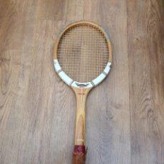 Coleccionismo deportivo: RAQUETA MADERA DUNLOP MAXPLY. Lote 180177227