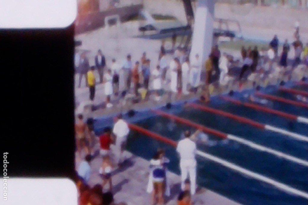 1968, CAMPEONATO NACIONAL DE NATACIÓN, CATEGORÍA INFANTIL. CINTA 8MM CASERA, ÚNICO! (Coleccionismo Deportivo - Material Deportivo - Otros deportes)