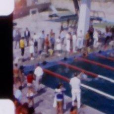 Coleccionismo deportivo: 1968, CAMPEONATO NACIONAL DE NATACIÓN, CATEGORÍA INFANTIL. CINTA 8MM CASERA, ÚNICO!. Lote 180866723