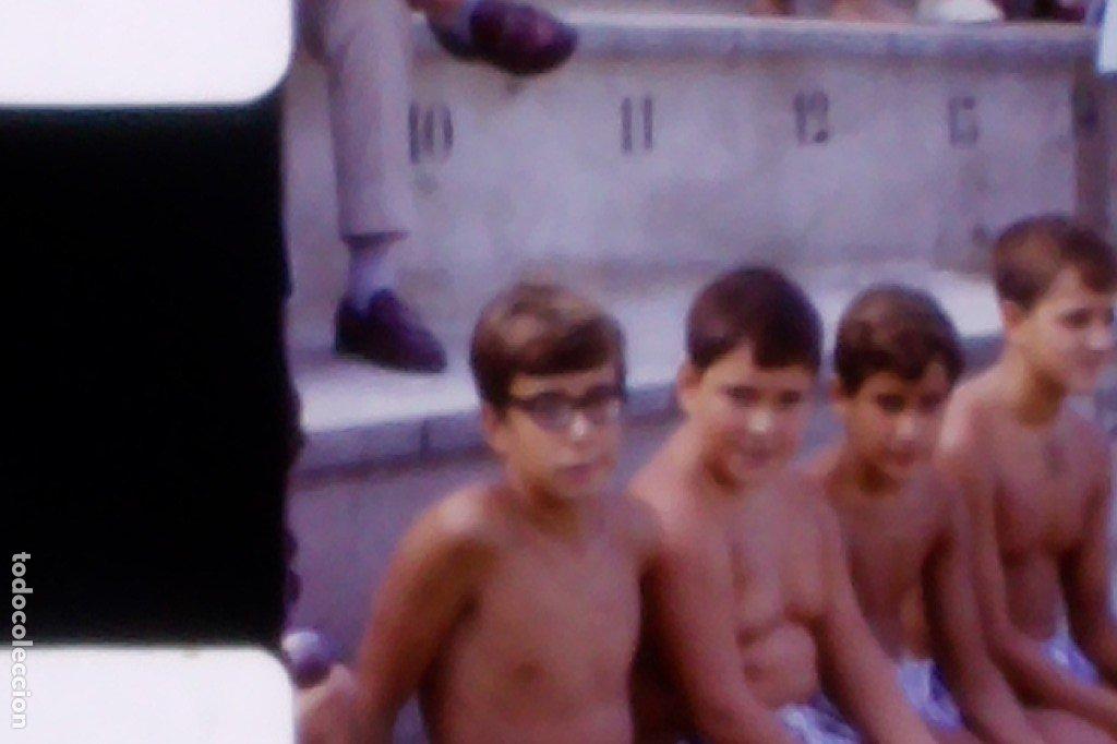 Coleccionismo deportivo: 1968, Campeonato nacional de natación, Categoría infantil. Cinta 8mm casera, único! - Foto 2 - 180866723
