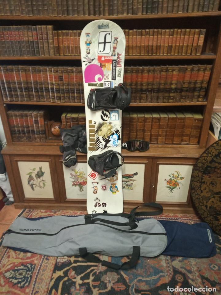 Aire acondicionado ciclo arrojar polvo en los ojos  tabla de snowboard. element. volcom. burton. in - Buy Old Equipment of  other Sports at todocoleccion - 181137041