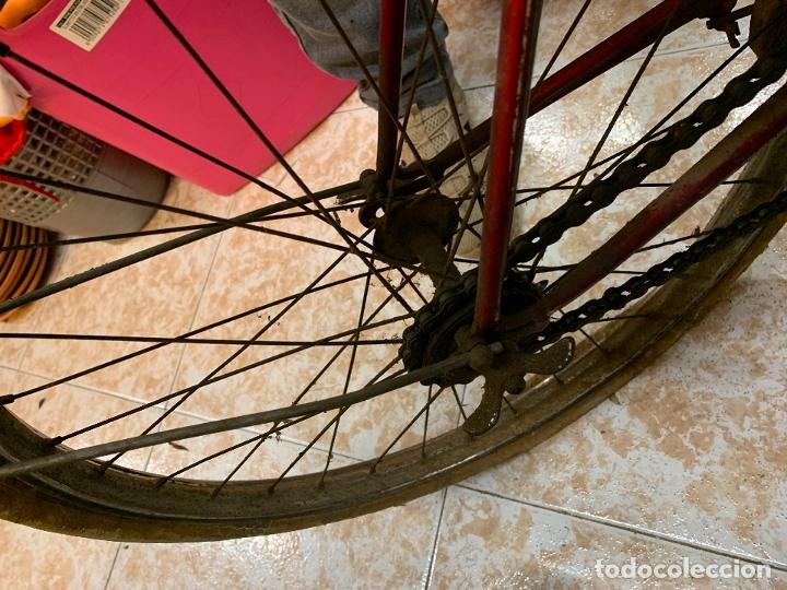 Coleccionismo deportivo: Espectacular bicicleta antigua infantil de varillas. Leer mas y ver fotos - Foto 5 - 182625125