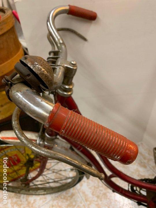 Coleccionismo deportivo: Espectacular bicicleta antigua infantil de varillas. Leer mas y ver fotos - Foto 14 - 182625125
