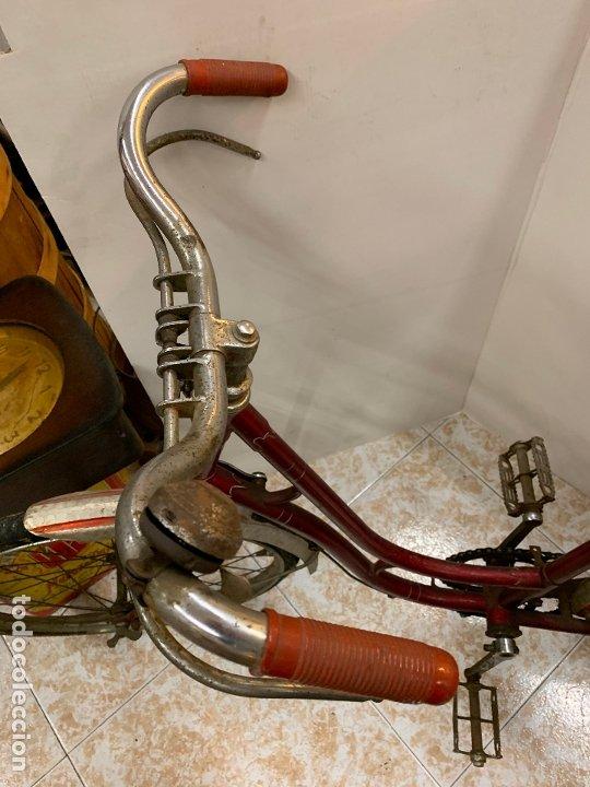 Coleccionismo deportivo: Espectacular bicicleta antigua infantil de varillas. Leer mas y ver fotos - Foto 15 - 182625125