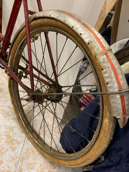 Coleccionismo deportivo: Espectacular bicicleta antigua infantil de varillas. Leer mas y ver fotos - Foto 19 - 182625125