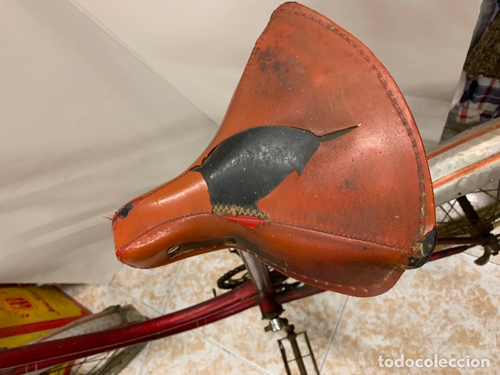 Coleccionismo deportivo: Espectacular bicicleta antigua infantil de varillas. Leer mas y ver fotos - Foto 20 - 182625125