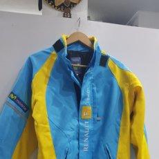 Coleccionismo deportivo: CAZADORA RENAULT F1 TEAM TELEFONICA TALLA S. Lote 183414436