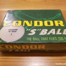 Coleccionismo deportivo: EXCLUSIVAS BOLAS DE GOLF CONDOR S BALL. Lote 183523371
