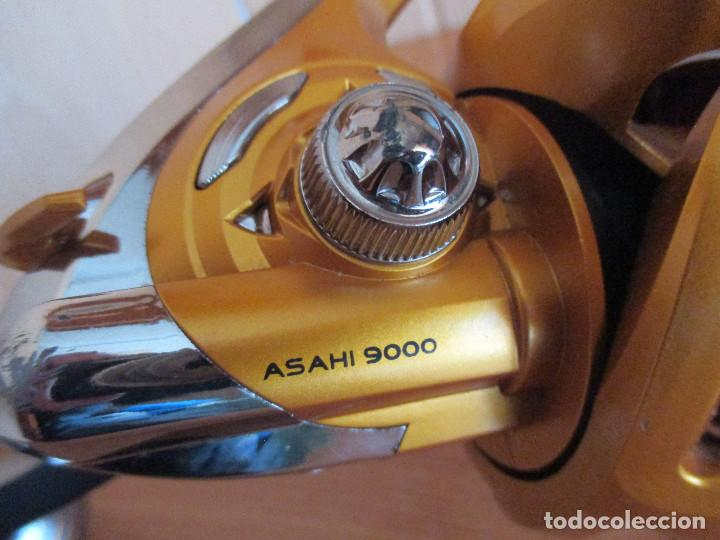 Coleccionismo deportivo: CARRETE GRANDE PESCA ASASHI 9000 - Foto 6 - 183968900