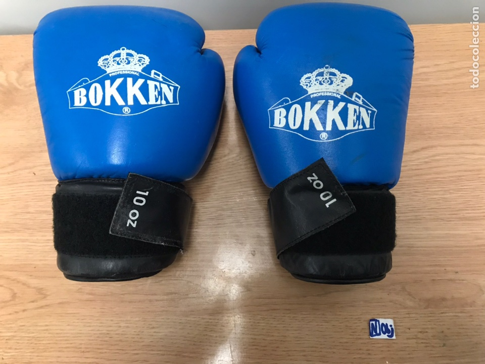 GUANTES DE BOXEO BOKKEN (Coleccionismo Deportivo - Material Deportivo - Otros deportes)