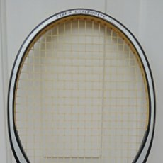 Coleccionismo deportivo: RAQUETA DE TENIS DUNLOP - DE MADERA - AÑO 2001 - GRIS GRAFITO. Lote 185135453