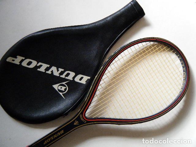 Coleccionismo deportivo: RAQUETA DUNLOP QUARTZ - Foto 6 - 186204920