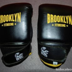 Coleccionismo deportivo: GUANTES FITBOXING BROOKLYN. Lote 187392305