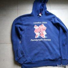 Coleccionismo deportivo: SUDADERA CON CAPUCHA JUEGOS PARALÍMPICOS LONDRES 2012. SWEATSHIRT PARALYMPIC GAMES LONDON. TALLA M. Lote 188662705