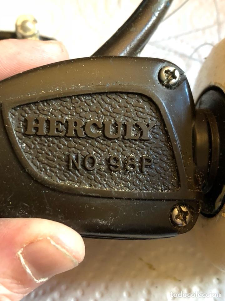 Coleccionismo deportivo: Carrete de pesca antiguo marca herculy - Foto 2 - 189489413