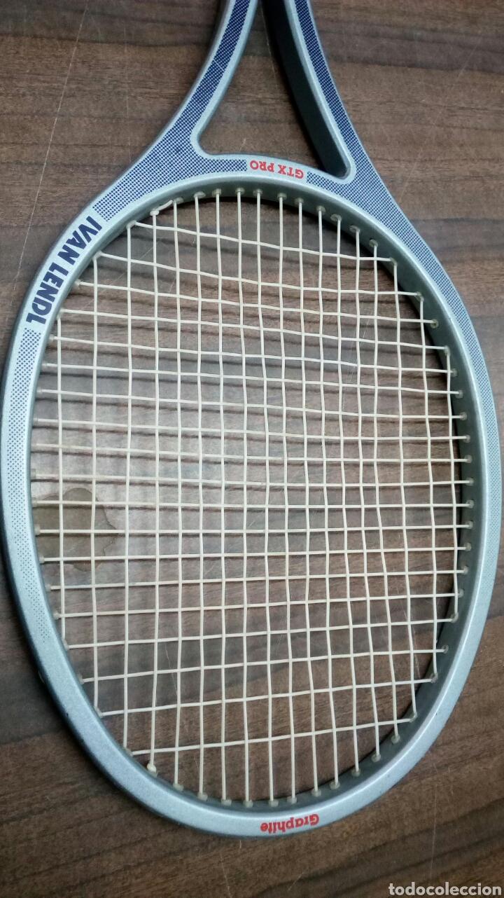 Coleccionismo deportivo: Raqueta Ivan Lendl Mitico Tenista,Checo _Norteamericano - Foto 2 - 189765556