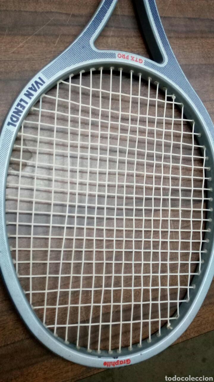 Coleccionismo deportivo: Raqueta Ivan Lendl Mitico Tenista,Checo _Norteamericano - Foto 5 - 189765556