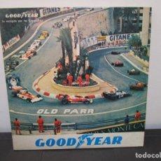 Coleccionismo deportivo: ALBUM 3 LPS GOOD YEAR CARATULA FORMULA 1 F1 GRAND PRIX 1978 OLD PARR GATEFOLD VG+ P1 RARO RAREZA. Lote 190350796