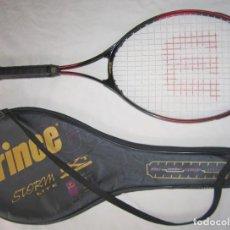 Coleccionismo deportivo: RAQUETA WILSON TECH COURT 4 1/4 L2. FUNDA COMPLETA PRINCE. Lote 190862838