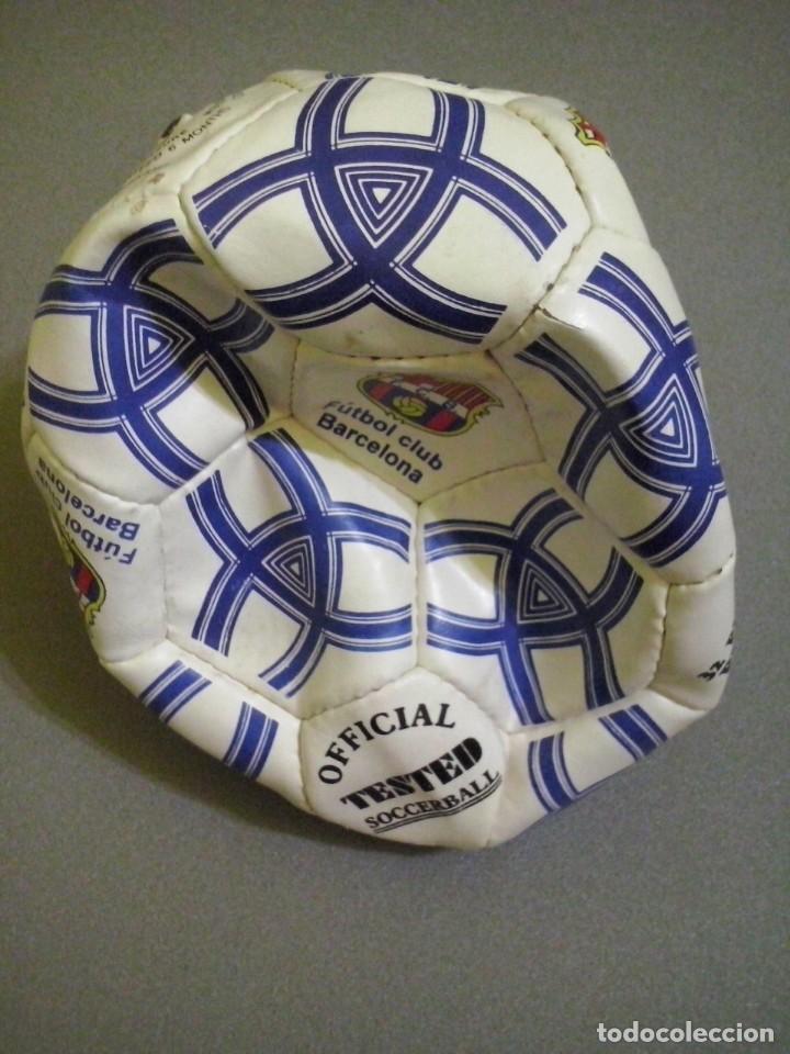 PELOTA DE FUTBOL CLUB BARCELONA OFFICIAL TESTED SOCCERBALL (Coleccionismo Deportivo - Material Deportivo - Otros deportes)
