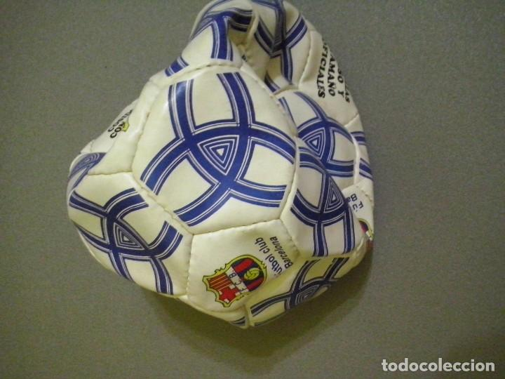 Coleccionismo deportivo: pelota de futbol club barcelona official tested soccerball - Foto 2 - 190892363