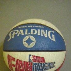 Coleccionismo deportivo: PELOTA BALONCESTO OFFICIAL SIZE & WEIGHT SPALDING NBA FANTASTIC. Lote 191134432