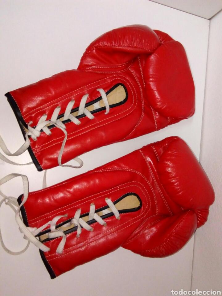Coleccionismo deportivo: Antiguos guantes de boxeo bank - Foto 2 - 191223253