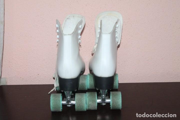 Coleccionismo deportivo: bonitos patines de cuatro ruedas talla 40 - Foto 3 - 191309975