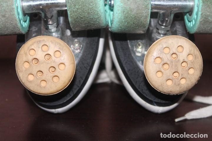 Coleccionismo deportivo: bonitos patines de cuatro ruedas talla 40 - Foto 5 - 191309975