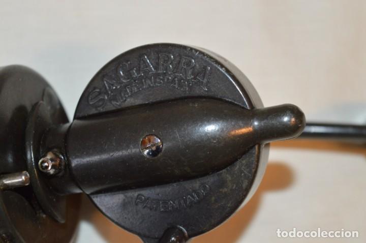 Coleccionismo deportivo: Antiguo CARRETE de pesca / VINTAGE --- SAGARRA --- MADE IN SPAIN - MIRA LAS FOTOS ¡Mira fotos! - Foto 10 - 191440728