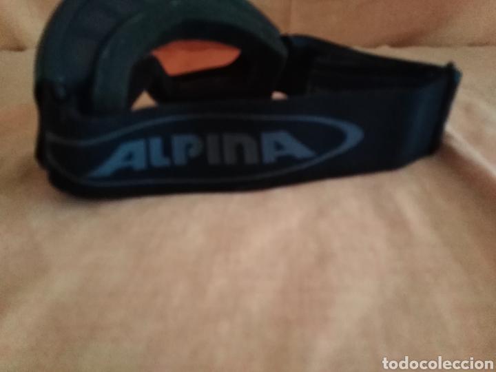 Coleccionismo deportivo: Gafas de esquiar alpina singlefex driber - Foto 3 - 192283162
