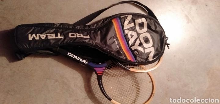 Coleccionismo deportivo: Raquetas de tenis Donay - Foto 4 - 192640283