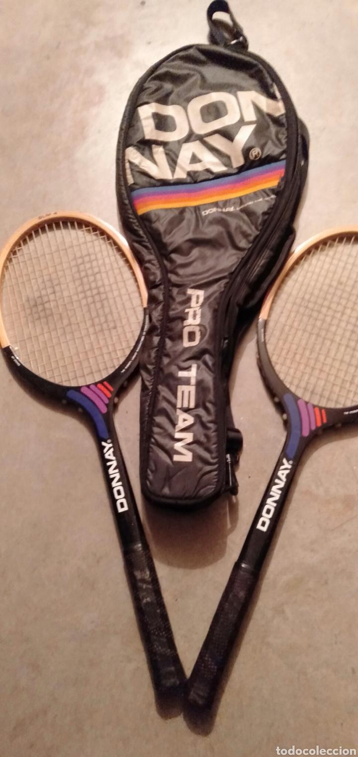 Coleccionismo deportivo: Raquetas de tenis Donay - Foto 8 - 192640283
