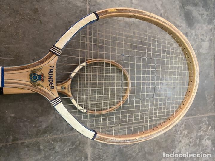 Coleccionismo deportivo: 2 raquetas Thunder - Foto 2 - 194314101